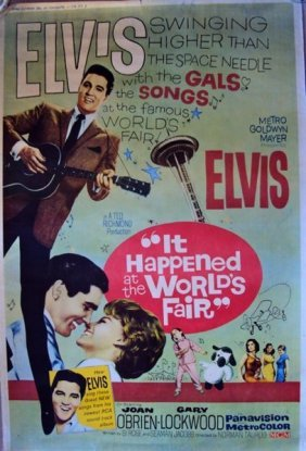 ELVIS PRESLEY. An Original U.S Cinema Poster