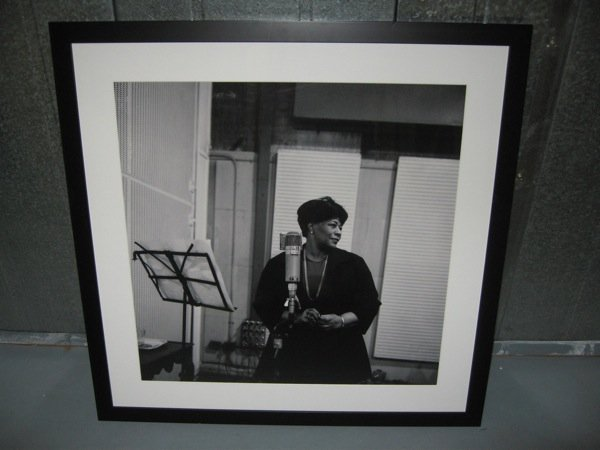 151: A Ltd Edition b/w photo of Ella Fitzgerald
