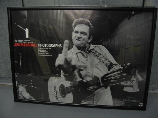 157: Johnny Cash. An Amusing Exhibition poster