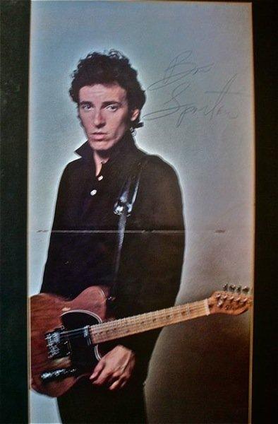 165: Bruce Springsteen Signed Tour Programme