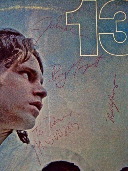 168:The Doors Impressive  Signed Album Display.