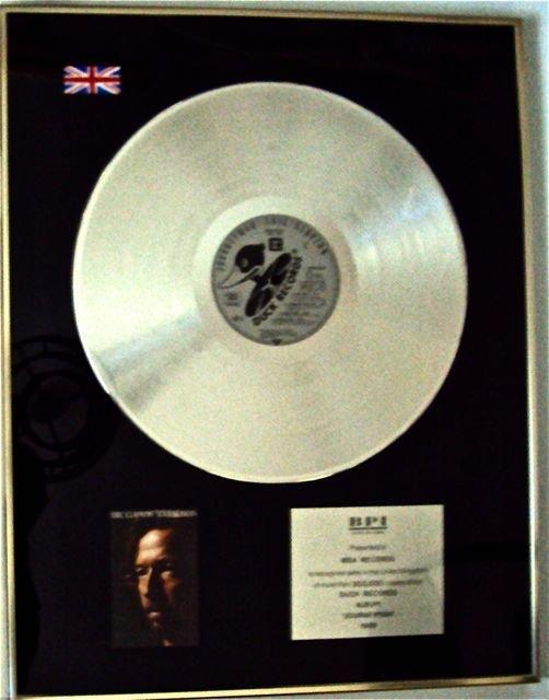 174: ERIC CLAPTON Record Award