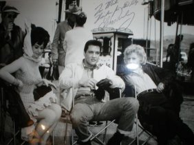 Elvis Presley Roustabout Signed Photograph