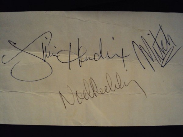 318: Jimi Hendrix Experience Autographs