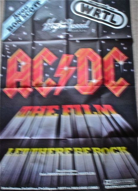 001: ACDC Original Movie Poster for Let their be Rock