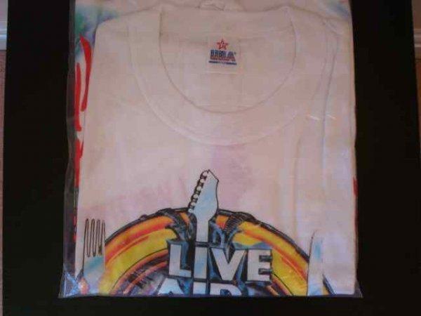 004: Live Aid An Original Official Live Aid T shirt