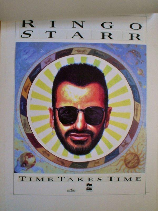 008: Ringo Starr Time Takes Time Original Artwork
