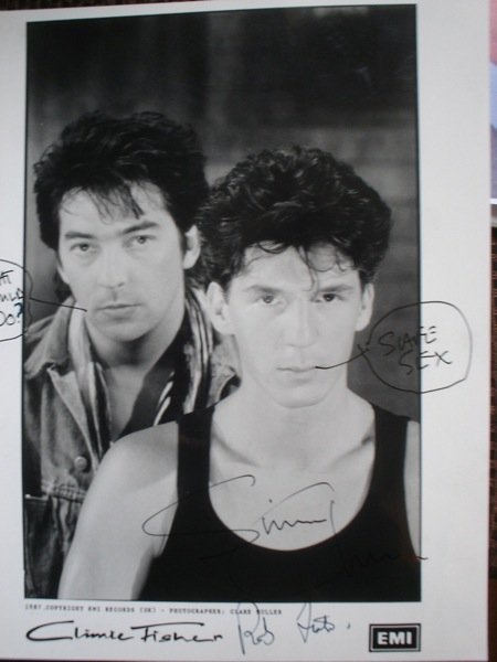 11: Climie Fisher Original Artwork and Poster Proofs