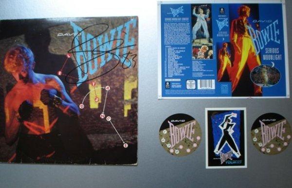 13: David Bowie Signed Presentation