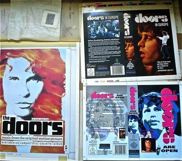 14: The Doors Original Production Artwork