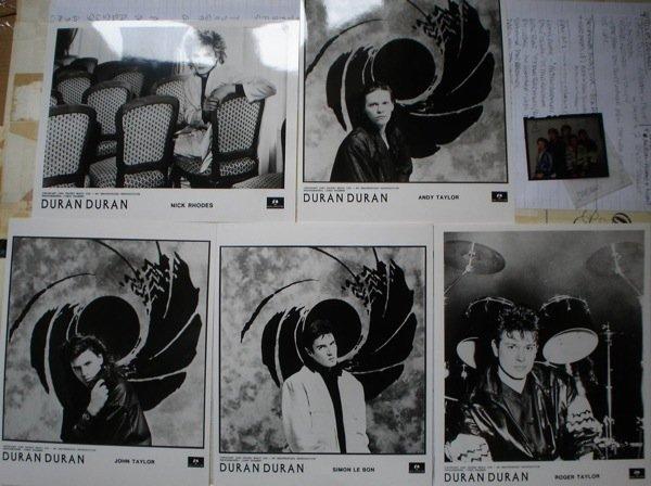 16: Duran Duran Original Publicity Photographs