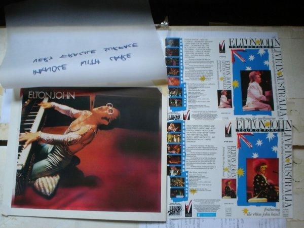 19: Elton John Proof Artwork