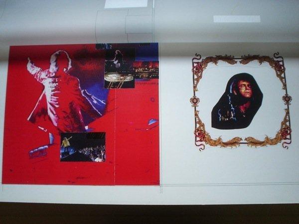 20: Elton John Original Production Artwork