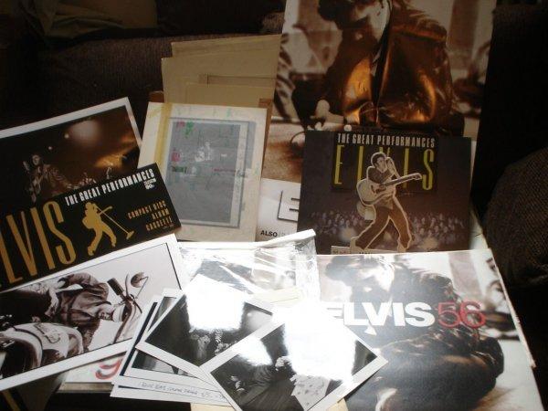 21: Elvis Presley Oriiginal Production Artwork Elvis 56