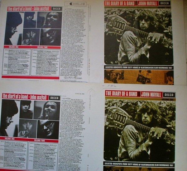 25: John Mayall Original Proof Album Artwork