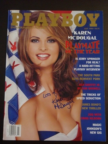 103: Playboy Magazines signed by Cover Girls - 3