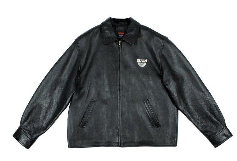 5: Sabian Cymbals Exlusive Leather Jacket MAJ LOT