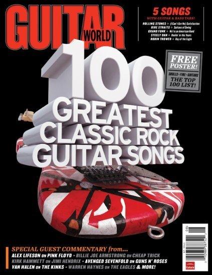 7: Guitar World Magazine MAJ LOT