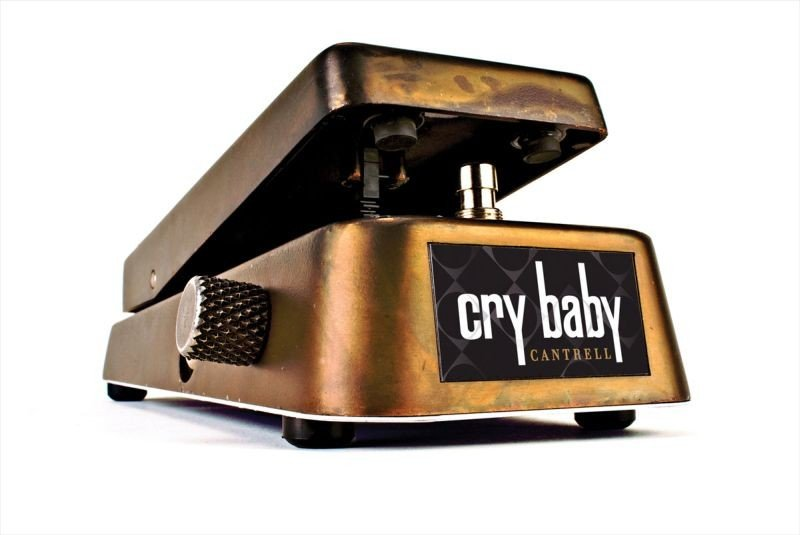 27: Dunlop JC95 Cry Baby - SIGNED BY JERRY CANTRELL MAJ