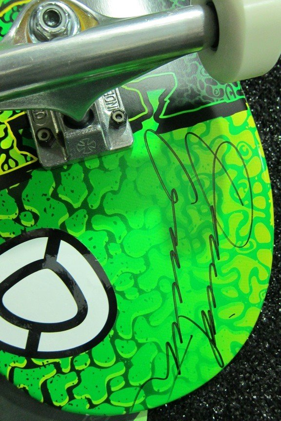 3: David Gravette C1RCA Skateboard, Shoe,Poster - 2