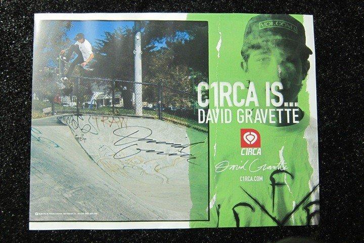 3: David Gravette C1RCA Skateboard, Shoe,Poster - 3