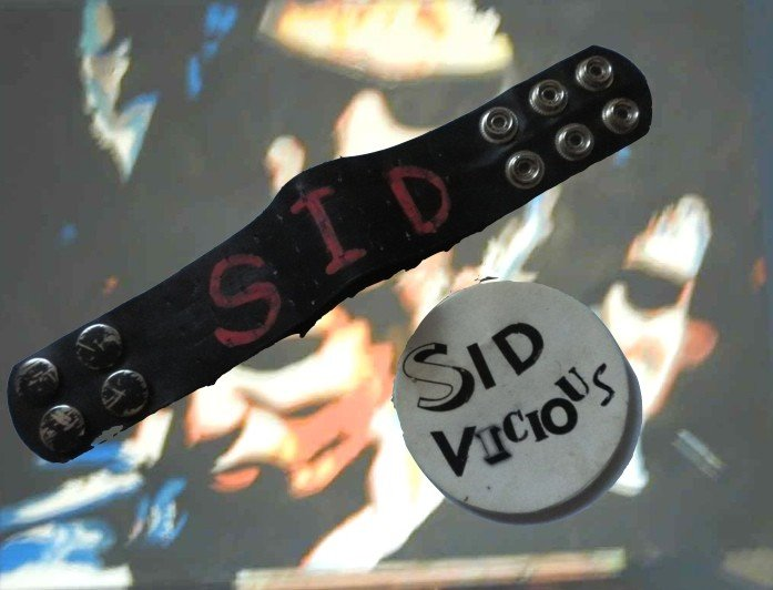 35: Sid Vicious/Nancy Spungeon wristband