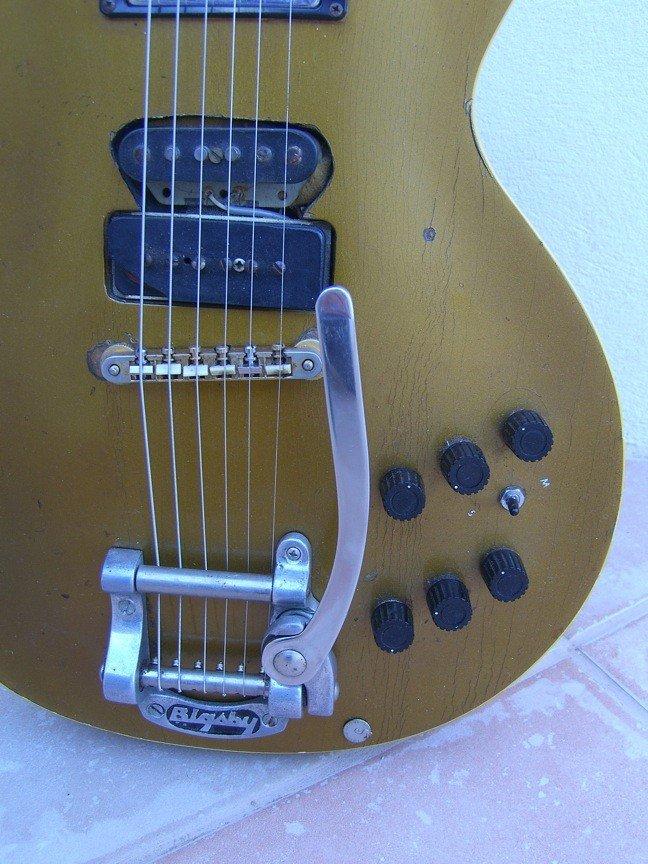 70: Frank Zappa's Les Paul Goldtop Guitar - 4