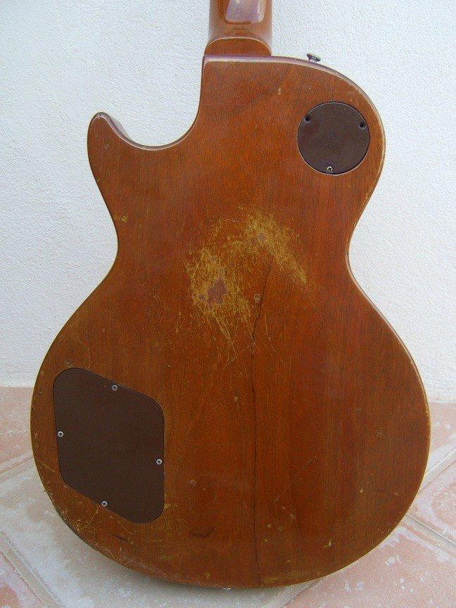 70: Frank Zappa's Les Paul Goldtop Guitar - 6