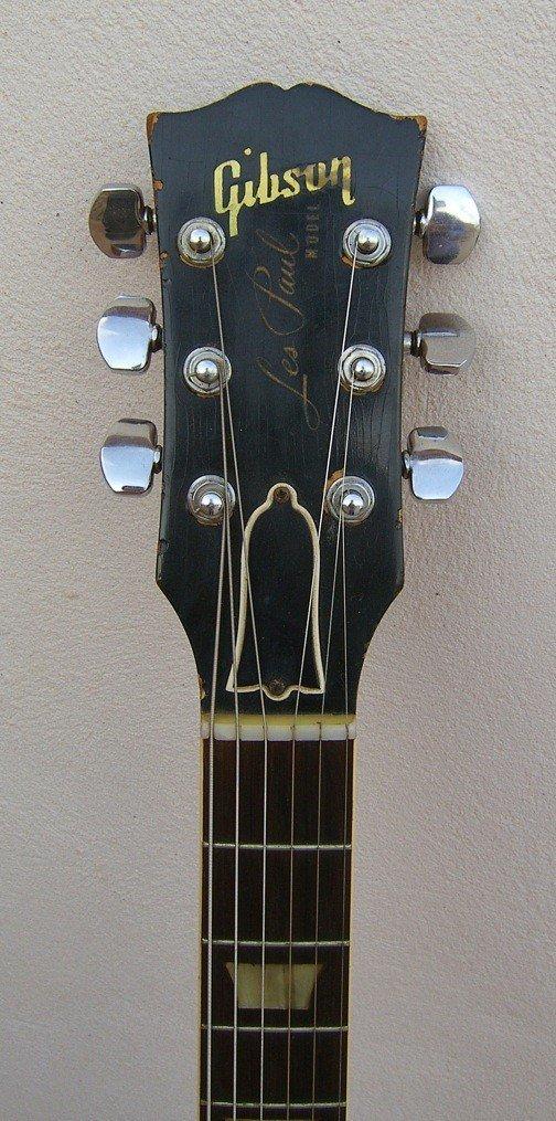 70: Frank Zappa's Les Paul Goldtop Guitar - 7