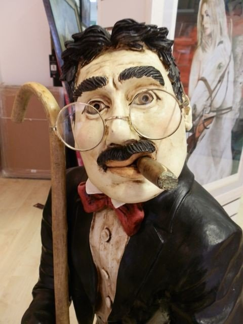 8: Groucho Marx Rare Peter Mook Statue - 2
