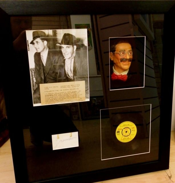 9: Groucho Marx Signature and Rare Items