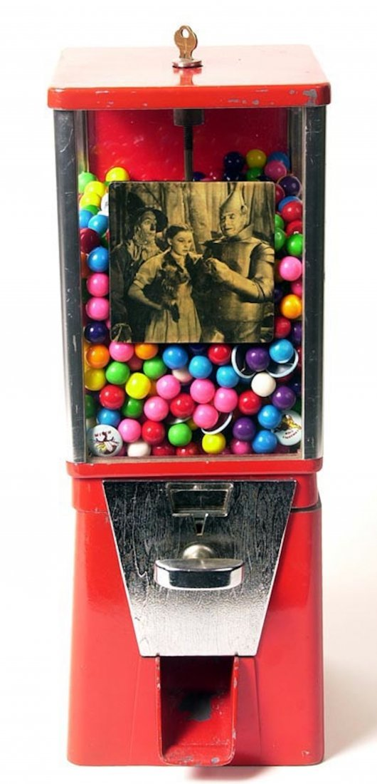 Wizard of Oz gumball machine