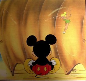 Two Mickey Mouse Serigraphs Cells
