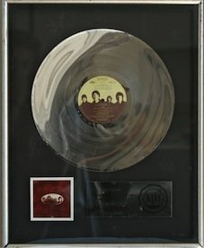Beatles RIAA Record Award