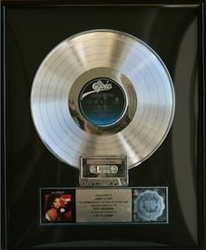 Gloria Estefan & Miami Sound Machine RIAA Record Award