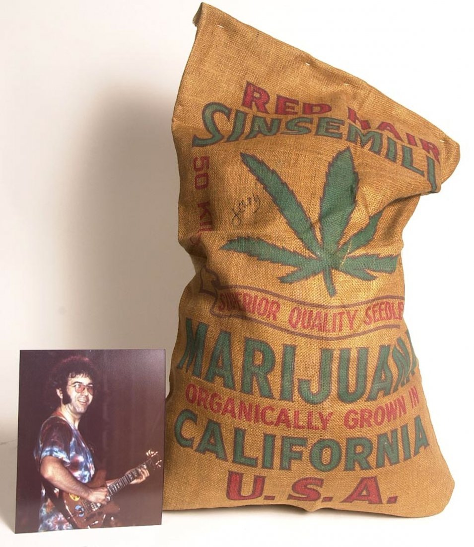 Grateful Dead / Jerry Garcia 1930-40s marijuana bag