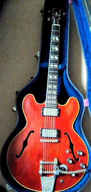 Paul McCartney & Wings Owned Gibson ES 345 Guitar