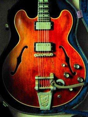 Paul McCartney & Wings Owned Gibson ES 345 Guitar - 3