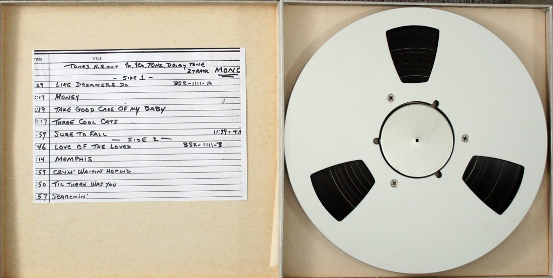 Unreleased Silver Beatles tape of Decca auditions 1962 - 3