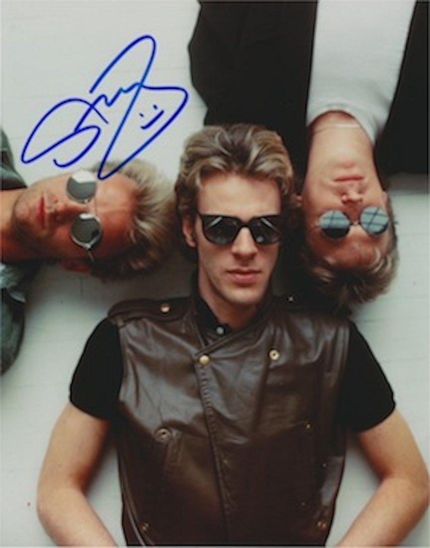 Sting Autographed Publicity Photograph.