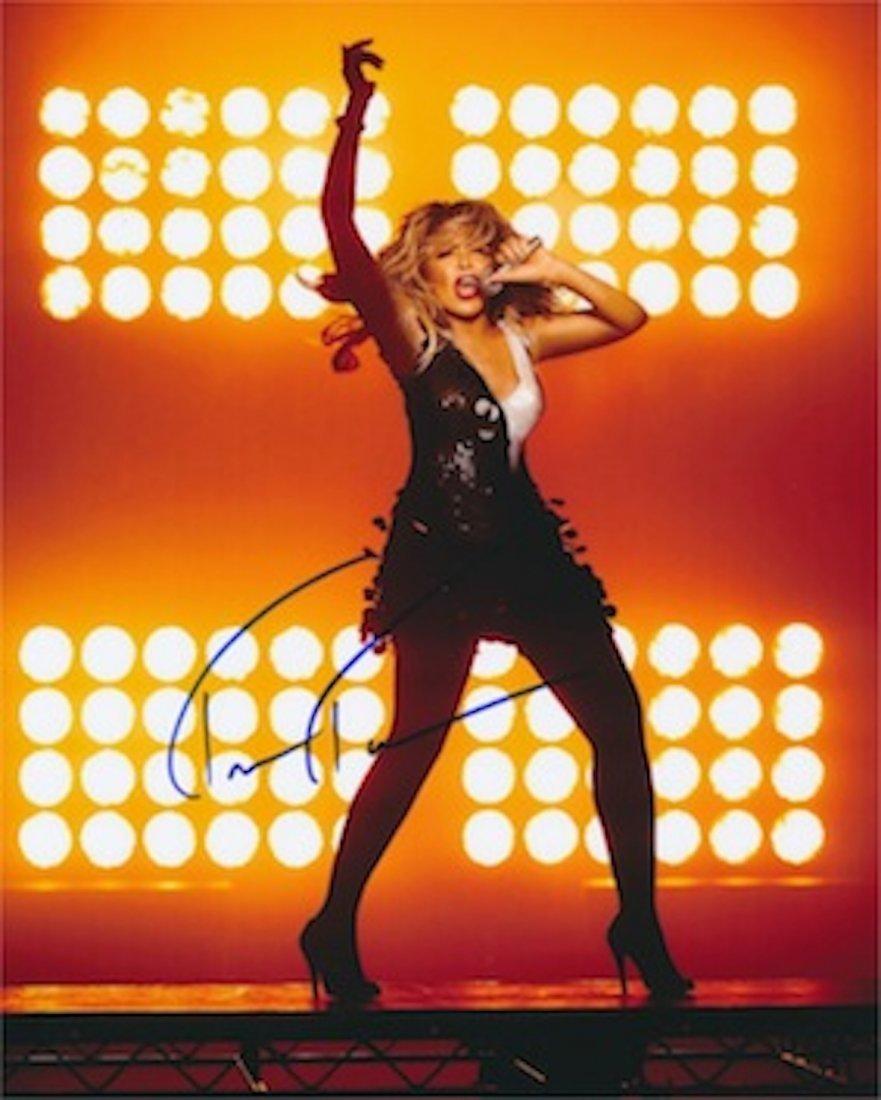 Tina Turner Autographed publicity photograph