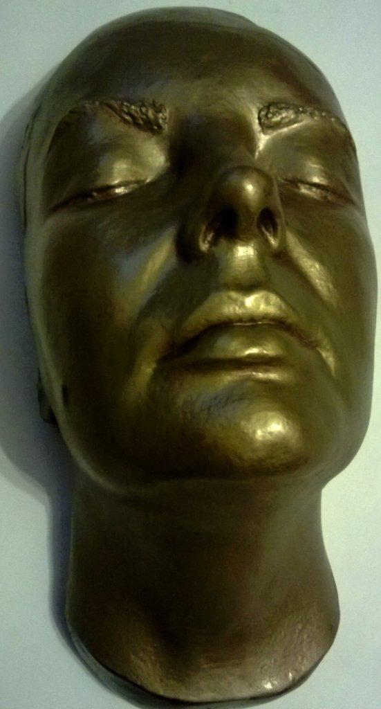 Elizabeth Taylor face mask from Cleopatra
