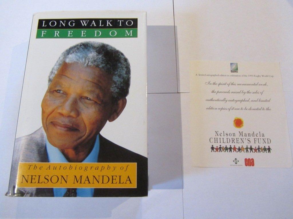 Nelson Mandela Signed Long Walk to Freedom Special Ed