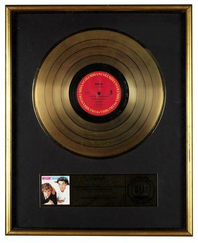 Wham - Make it big RIAA award