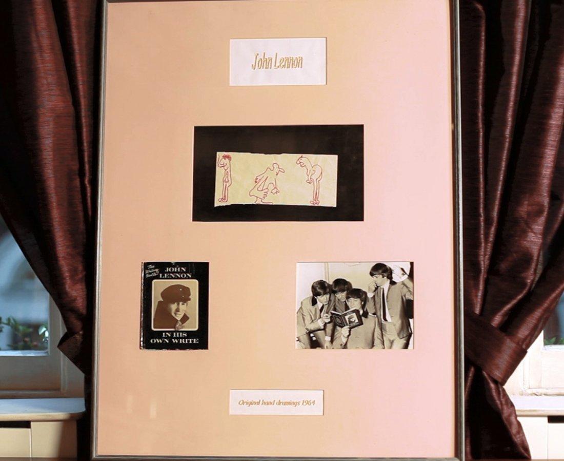John Lennon original artwork.1964.