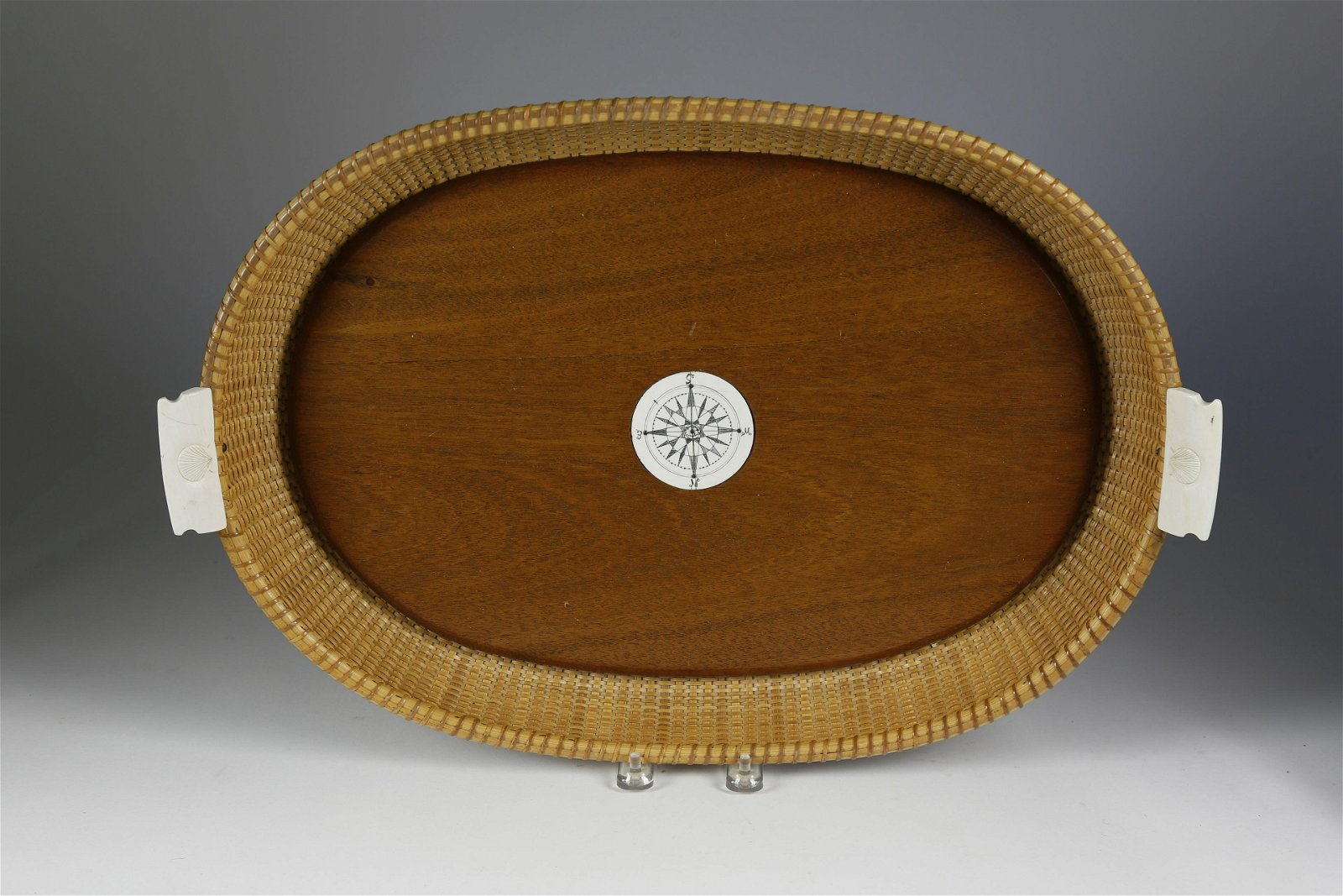 Bill and Judy Sayle Nantucket Oval Serving Tray, 1982