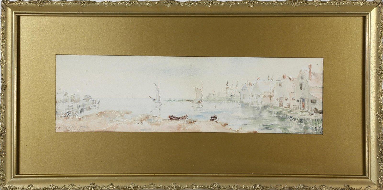 "Lillian Gertrude Smith - ""Old North Wharf"
