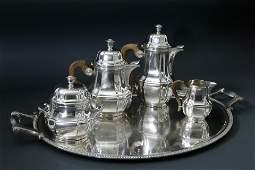 "Christofle France ""Gallia"" Tea and Coffee Service"