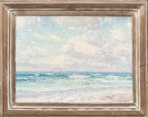 Frank Swift Chase Oil Nantucket Surf