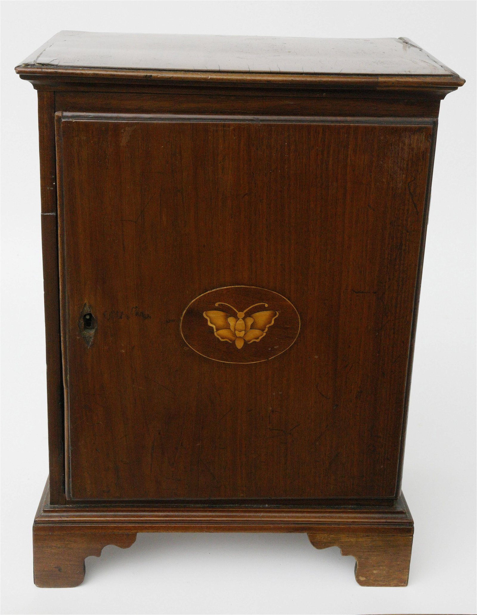 American Miniature Mahogany 8 Drawer Spice Chest,